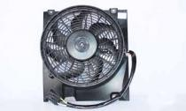 2000 - 2005 Saturn L Condenser Cooling Fan Assembly