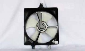 2003-2007 Honda Accord Radiator Cooling Fan Assembly (Coupe / Sedan / V6 / Right Side)