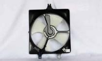 2003 - 2007 Honda Accord Radiator Cooling Fan Assembly (Coupe + Sedan + V6 + Right Side)