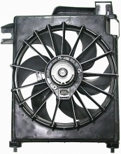 2002-2008 Dodge Ram Condenser Cooling Fan Assembly