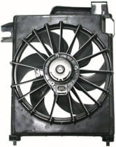 2002 - 2008 Dodge Ram Condenser Cooling Fan Assembly