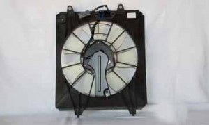 2007-2009 Honda CR-V Condenser Cooling Fan Assembly