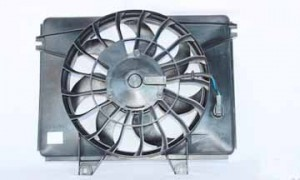 2002-2005 Kia Sedona Condenser Cooling Fan Assembly