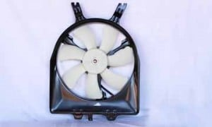2005-2007 Honda Odyssey Condenser Cooling Fan Assembly
