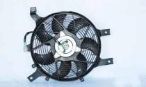 1998 - 2000 Nissan Frontier Condenser Cooling Fan Assembly