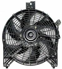 2004-2006 Nissan Titan Pickup Condenser Cooling Fan Assembly