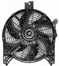 2004 - 2006 Nissan Titan Pickup Condenser Cooling Fan Assembly