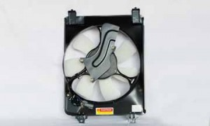 2006-2010 Honda Civic Radiator Cooling Fan Assembly (Coupe / Sedan / 1.8L / Excluding Hybrid)