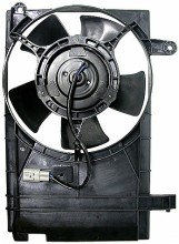 2004-2006 Chevrolet (Chevy) Aveo Radiator Cooling Fan Assembly