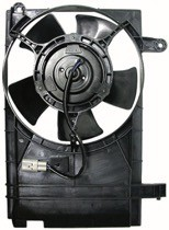 2004 - 2006 Chevrolet (Chevy) Aveo Radiator Cooling Fan Assembly