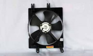 2005-2008 Suzuki Reno Radiator Cooling Fan Assembly (Right Side)