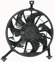 1995 - 1998 Pontiac Grand Am Radiator Cooling Fan Assembly