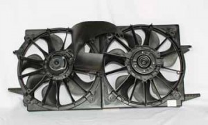 2003-2005 Pontiac Grand Am Radiator Cooling Fan Assembly