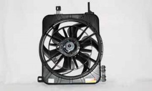 1995-2005 Chevrolet (Chevy) Cavalier Radiator Cooling Fan Assembly