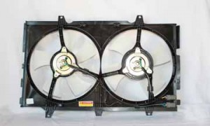 1989-1994 Nissan Maxima Radiator Cooling Fan Assembly