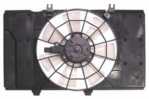 2000-2001 Plymouth Neon Radiator Cooling Fan Assembly