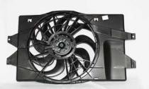 1993 - 1995 Dodge Caravan Radiator Cooling Fan Assembly Replacement