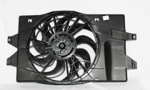 1993-1995 Plymouth Voyager Radiator Cooling Fan Assembly