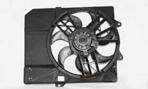 1998-2003 Ford Escort Radiator Cooling Fan Assembly