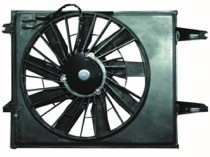 1993 - 1995 Nissan Quest Van Radiator Cooling Fan Assembly (Standard Duty)