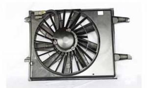 1993-1995 Nissan Quest Van Radiator Cooling Fan Assembly (Heavy)