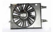 1993 - 1995 Nissan Quest Van Radiator Cooling Fan Assembly (Heavy)