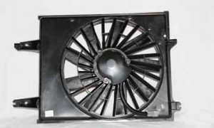 1996-1998 Nissan Quest Van Radiator Cooling Fan Assembly