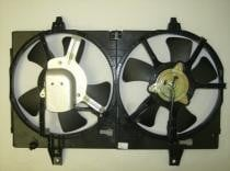 2000-2001 Nissan Maxima Radiator Cooling Fan Assembly