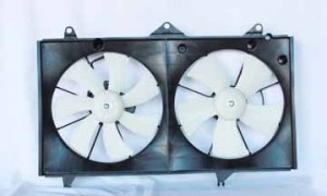 2002-2006 Toyota Camry Radiator Cooling Fan Assembly (4 Cylinder)
