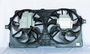1999-1999 Oldsmobile Silhouette Radiator Cooling Fan Assembly (Standard Cooling)