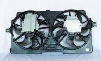 1999 Oldsmobile Silhouette Radiator Cooling Fan Assembly (Standard Cooling)