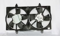 2002 - 2006 Nissan Altima Radiator Cooling Fan Assembly (2.5L) Replacement