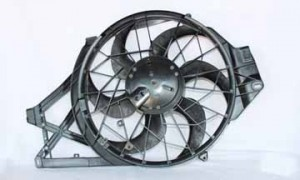 1997-1998 Ford Mustang Radiator Cooling Fan Assembly