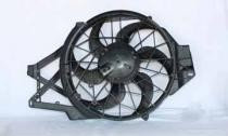 1998 - 2000 Ford Mustang Radiator Cooling Fan Assembly