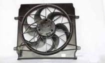 2002 - 2004 Jeep Liberty Radiator Cooling Fan Assembly