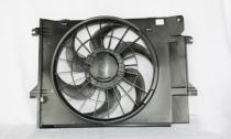 1999 - 2002 Nissan Quest Van Radiator Cooling Fan Assembly