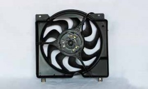 1997-2001 Jeep Cherokee Radiator Cooling Fan Assembly
