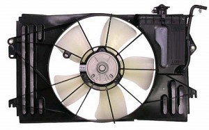 2003-2008 Pontiac Vibe Radiator Cooling Fan Assembly