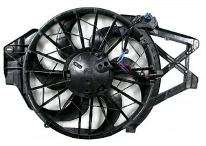 2001-2004 Ford Mustang Radiator Cooling Fan Assembly