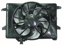 2000 - 2002 Ford Crown Victoria Radiator Cooling Fan Assembly