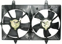 2003 - 2007 Nissan Murano Radiator Cooling Fan Assembly