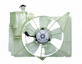 2000-2005 Toyota Echo Radiator Cooling Fan Assembly