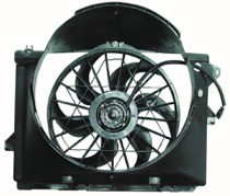 1995-1997 Ford Crown Victoria Radiator Cooling Fan Assembly