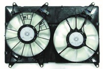 2001 - 2007 Toyota Highlander Radiator Cooling Fan Assembly