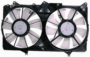 2002-2006 Toyota Camry Radiator Cooling Fan Assembly (V6)