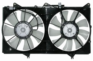 2002-2003 Lexus ES300 Radiator Cooling Fan Assembly