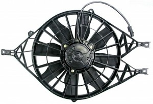 2000-2004 Dodge Durango Radiator Cooling Fan Assembly