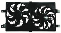 2001 - 2006 Chrysler Sebring Radiator Cooling Fan Assembly