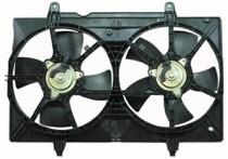 2004-2009 Nissan Quest Van Radiator Cooling Fan Assembly