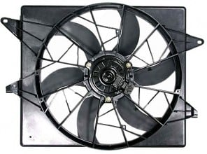1994-1997 Ford Thunderbird Radiator Cooling Fan Assembly